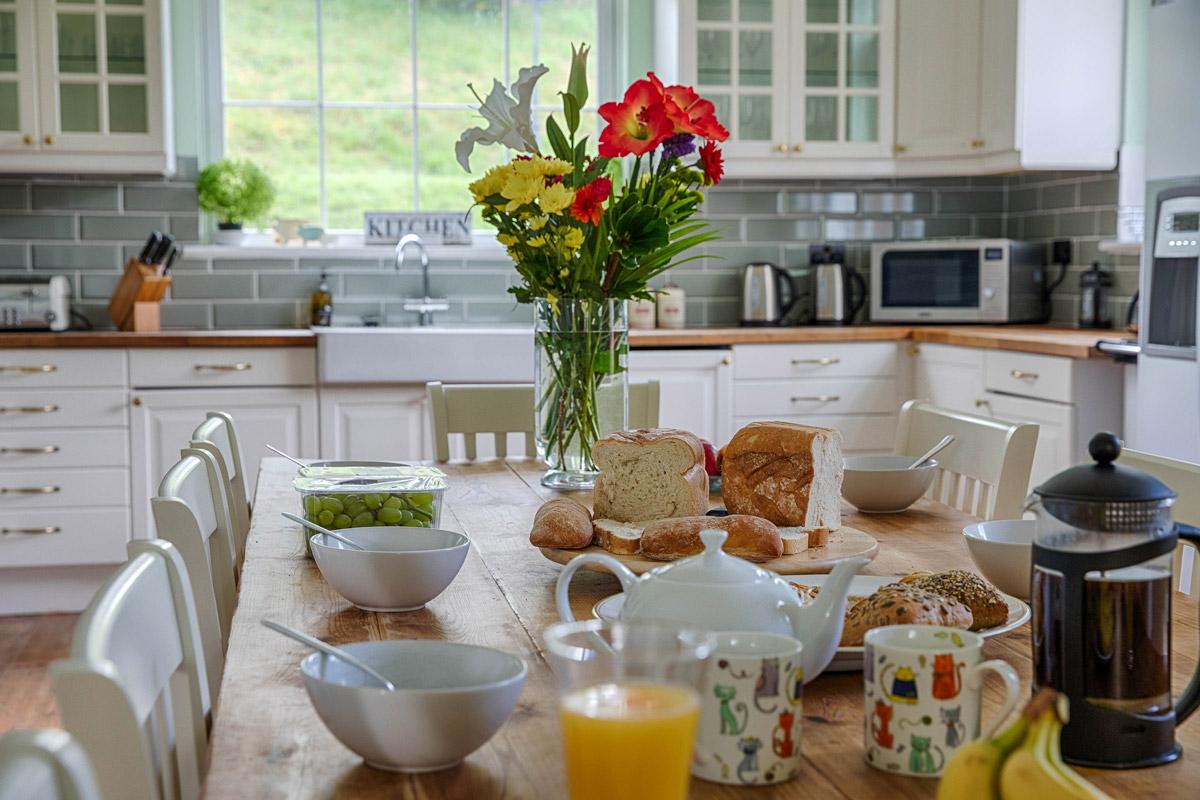Kitchen Lambourn House, Holiday Accommodation, Functions, Events & Corporate, Lambourn, Berkshire, UK