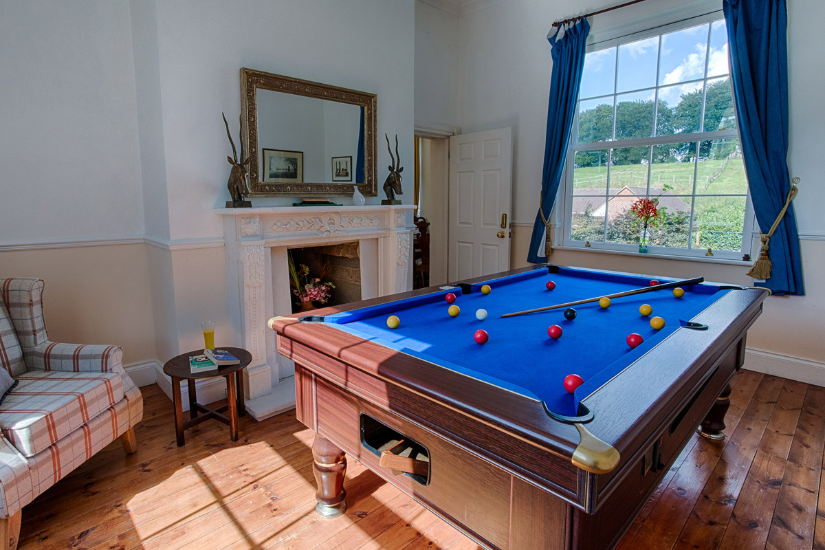 Pool Room Lambourn House, Holiday Accommodation, Functions, Events & Corporate, Lambourn, Berkshire, UK