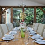 Dining Room Ridgeway House, Holiday Accommodation, Functions, Events & Corporate, Lambourn, Berkshire, UK