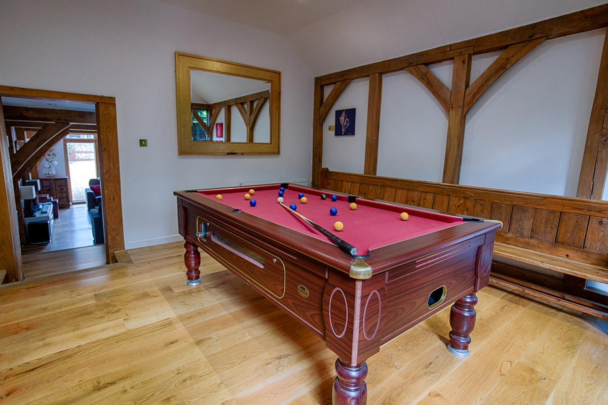 Pool Room Ridgeway House, Holiday Accommodation, Functions, Events & Corporate, Lambourn, Berkshire, UK