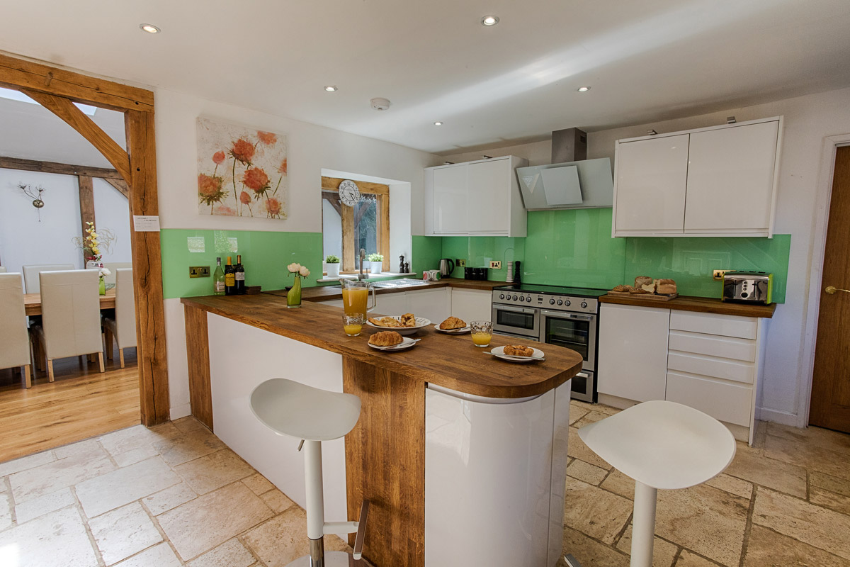 Kitchen Ridgeway House, Holiday Accommodation, Functions, Events & Corporate, Lambourn, Berkshire, UK